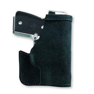 Galco Pocket Protector Kel-Tec P32, P3AT Pocket Holster Leather Ambidextrous Black PRO436B