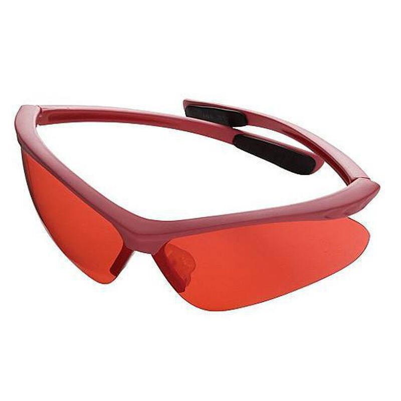 Champion Open Frame Shooting Glasses Pink with Rose Lenses 40605