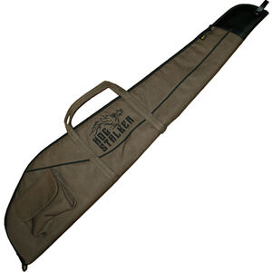 "Browning Hog Stalker Scoped Rifle Case 44"" Foam Padded Synthetic Shell Black/Brown"