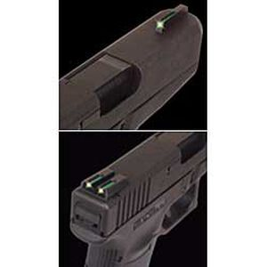 TRUGLO Glock TFO Tritium and Fiber Optic Sight Set Green TG131GT2