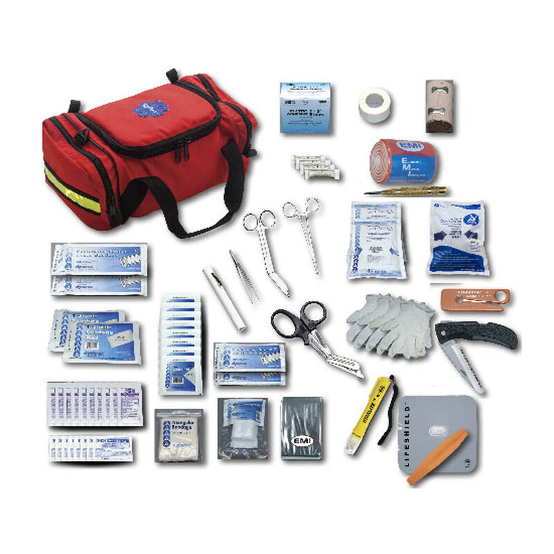 Emergency Medical International Pro Response Basic Kit, Orange