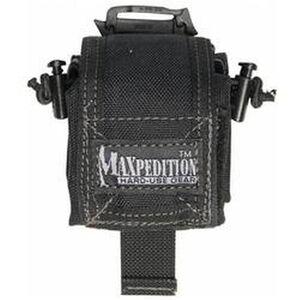 MAXPEDITION Mini Rollypoly Folding Dump Pouch 1000 Denier Black