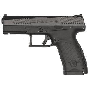 "CZ P-10 C 9mm Semi Auto Pistol 4.02"" Barrel 15 Rounds Tritium Night Sights Polymer Frame Matte Black Finish"