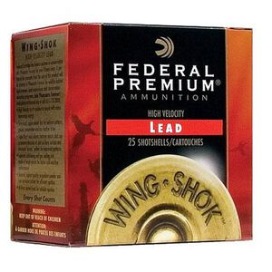 "Federal Wing-Shok 16ga 2-3/4"" #6 Shot 1-1/8oz 250 Rnd Case"