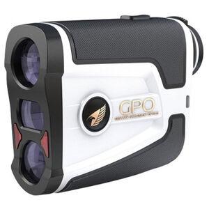 GPO Passion Flagmaster 1800 Rangefinder 6x Magnification 1800 Yard Max Range White and Black