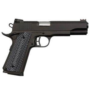"Rock Island Armory 1911 Ultra Full Size Semi Automatic Pistol .45 ACP 5"" Barrel 8 Rounds Fiber Front Sight Adjustable Rear G10 Grips Parkerized Finish"