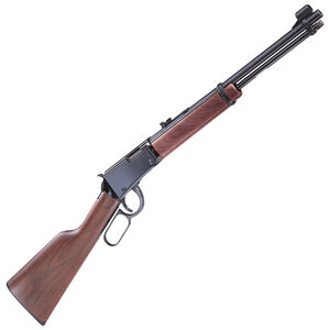 "Henry Repeating Arms Model H001 Lever Action Rimfire Rifle .22 Long Rifle 18.25"" Barrel 15 Rounds Walnut Stock Blued Finish"