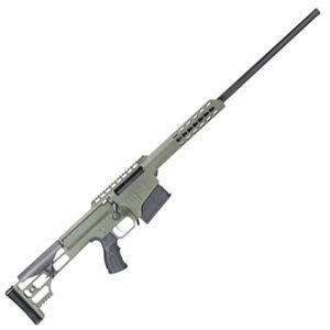 """Barrett M98B Fieldcraft Bolt Action Rifle 300 Win Mag 24"""" Barrel 10 Rounds Aluminum Frame OD Green/Black"""