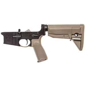 Bravo Company AR-15 Complete Lower Receiver FDE