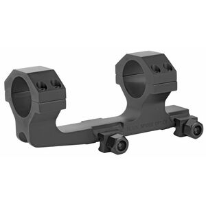 Black Spider Optics AR-15 N1 One Piece Scope Mount 30mm Tube Diameter Cantilever Aluminum Construction Anodized Finish Matte Black