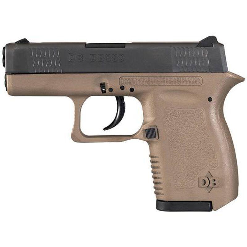 "Diamondback DB380 Semi Auto Handgun .380 ACP 2.8"" Barrel 6 Rounds Cerakote FDE Polymer Frame DB380FDE"