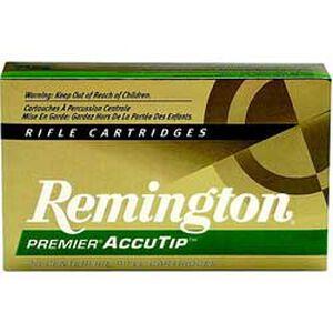 Remington .30-06 Springfield Ammunition 20 Rounds, AccuTip, 180 Grains