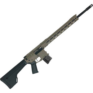 "Spec Arms Hunter 6.5 Grendel AR-15 Semi Auto Rifle, 20"" Match Grade Barrel, 24 Rounds, M-LOK Handguard, Fixed Stock, Flat Dark Earth Cerakote Finish"
