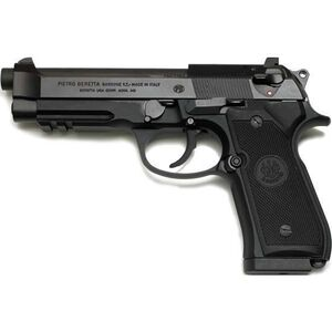 "Beretta 92A1 Semi Auto Handgun 9mm Luger 4.9"" Barrel 17 Rounds Picatinny Rail Black Finish J9A9F10"