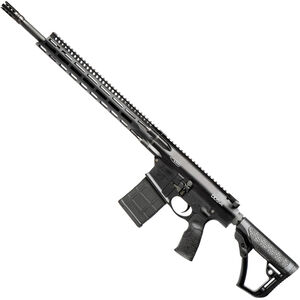 "Daniel Defense DD5v4 6.5 Creedmoor AR Style Semi Auto Rifle 18"" Barrel 20 Rounds 15"" M-LOK Handguard Collapsible Stock Black"