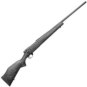 "Weatherby Vanguard Wilderness Bolt Action Rifle .308 Winchester 24"" Fluted Barrel 5 Round Capacity Synthetic Monte Carlo Aluminum Bedded Gel Coat/Spiderweb Stock Matte Bead Blasted Blued Finish VLE308NR4O"