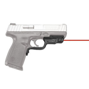 Crimson Trace LG-457 Red LaserGuard For S&W SD9/SD40/SD9VE/SD40VE Models Front Activation Polymer Housing Matte Black