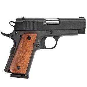 "Rock Island 1911 Compact Semi Auto Pistol .45 ACP 3.5"" Barrel 7 Rounds Parkerized Steel Frame Fixed Sights 54183"
