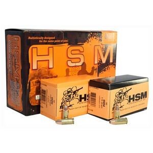 HSM Double Duty Ammo Combo Pack 9mm Luger 115 Grain Full Metal Jacket/115 Grain Jacketed Hollow Point, 300 Total Rounds, 9MM115DD