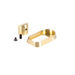 The Gun Company Brass Magwell For GLOCK 17 Gen 3 TGC-GLK-G173-BM