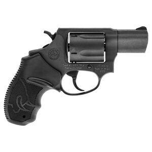 """Taurus 605 Double Action Revolver .357 Magnum 2"""" Barrel 5 Rounds Fixed Sights Soft Rubber Grips Matte Black Finish"""
