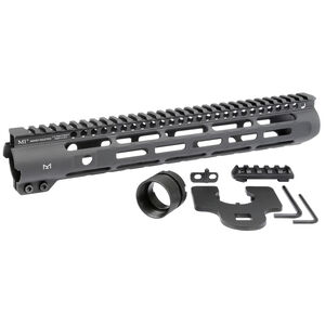 "Midwest Industries Slim Line One Piece Free Float Handguard 12.625"", M-LOK"