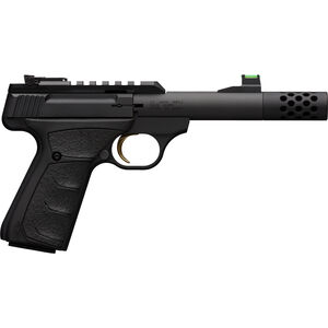 "Browning Buck Mark Plus Micro Bull SR .22 LR Semi Auto Rimfire Pistol 4.4"" Threaded Barrel 10 Rounds Synthetic Grips Matte Black Finish"