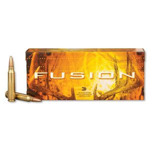 Federal Fusion .223 Remington Ammunition 20 Rounds JSP 62 Grain 3,000 Feet Per Second
