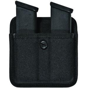 Bianchi PatrolTek Triple Threat II Double Magazine Fits Most Double Stack 9mm/.40 Magazines Nylon Black