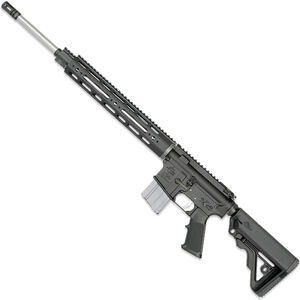 "Rock River LAR-15 NM A4 CMP 5.56 NATO AR-15 Semi Auto Rifle 20"" Heavy Barrel .223 Wylde Chamber 20 Rounds 12.5"" Free Float Handguard Colapsible Stock Black Finish"