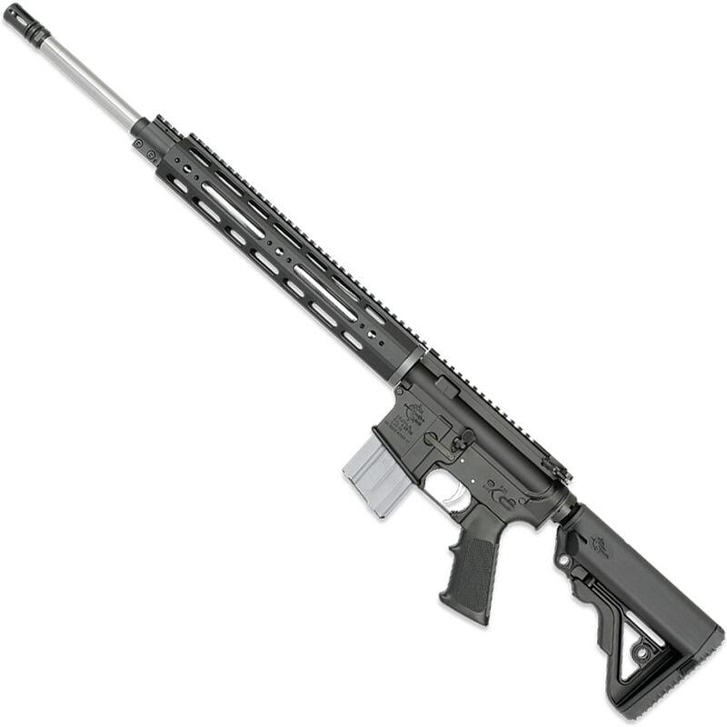"Rock River LAR-15 NM A4 CMP 5.56 NATO AR-15 Semi Auto Rifle 20"" Heavy Barrel .223 Wylde Chamber 20 Rounds 12.5"" Free Float Handguard Colapsible Stock Black Finish"