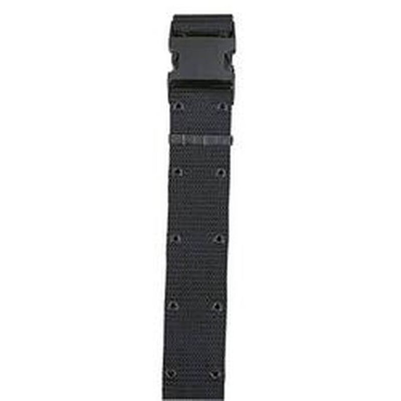 "Bianchi Web Pistol Belt 2.25"" Width Size 30""-48"" Waist Nylon OD Green"