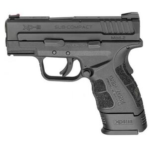 "Springfield Armory XD Mod.2 Sub-Compact 9mm Semi Auto Pistol 3"" Barrel 16 Rounds Polymer Frame Matte Black"