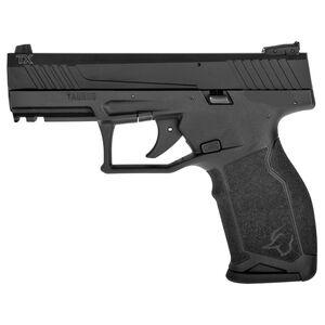 "Taurus TX22 .22 Long Rifle Semi Auto Pistol 4.1"" Threaded Barrel 16 Rounds Adjustable Rear Sight PTS Trigger No Manual Safety Polymer Frame Black Finish"