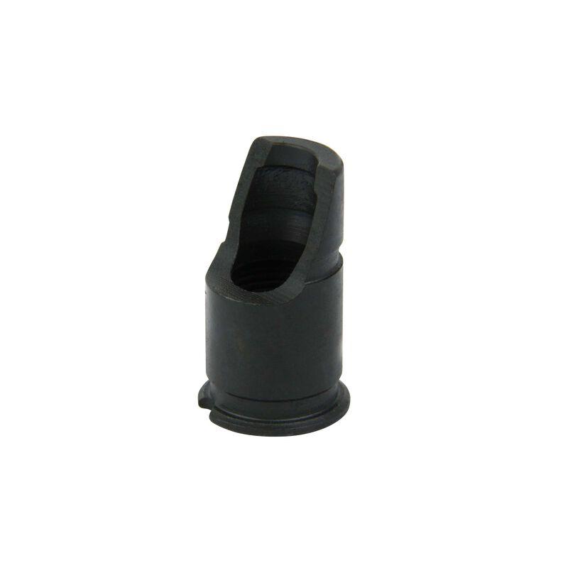 TacFire 7.62 39mm 14-1 Left Hand Thread Slant Muzzle Brake Short Steel