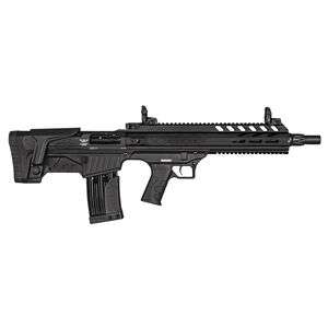 "Landor Arms BPX 902 12 Gauge Semi Auto Shotgun 18.50"" Barrel 3"" Chamber 5 Rounds Detachable Box Magazine Bullpup Synthetic Stock Black Finish"