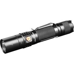 Fenix UC35 Flashlight Cree XM-L2 LED 960 Lumens 3200 mAH 18650 Rechargeable Battery Tail Cap Switch Aluminum Black UC35