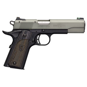"Browning 1911-22 Black Label Gray Semi Auto Pistol 22 LR 4.25"" Barrel 10 Rounds Black/Gray"