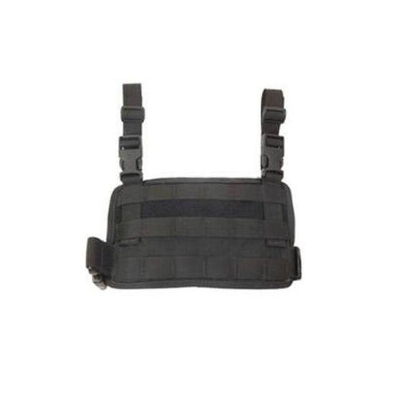 HSGI Padded Drop Leg Panel MOLLE/PALS Black 20MDL1