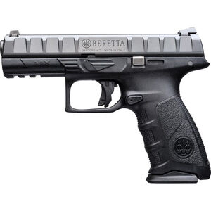 "Beretta APX .40 S&W Semi Auto Pistol 4.25"" Barrel 10 Rounds Polymer Frame Black"