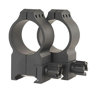Warne Tactical Scope Rings 30mm Extra High Weaver/Picatinny Steel Black