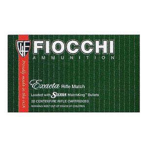Fiocchi Exacta Match .223 Rem Ammunition 69 Grain Sierrra Match King HPBT 2850 fps