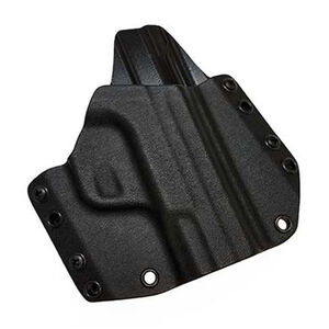 Mission First Tactical OWB Holster For GLOCK 19/23 Right Hand Polymer Black HGL19OWB-BL