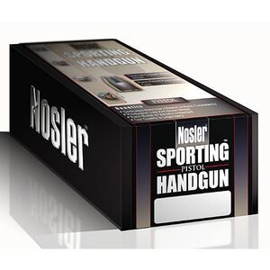 "Nosler 10mm and .40 Caliber .400"" Diameter 150 Grain Jacketed Hollow Point Sporting Handgun Bullets 250 Count 44860"