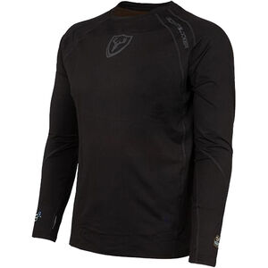 Scent Blocker 1.5 Performance Layer Men's Long Sleeve Shirt Large Polyester/Spandex Black
