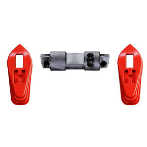 Hiperfire HIPERSWITCH AR 60 Degree Ambidextrous Safety Selector 2-Lever Set Red Finish