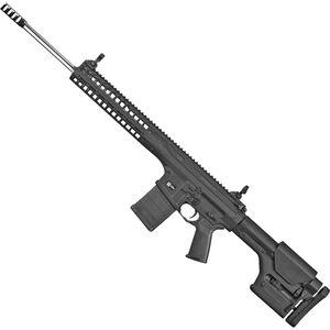 "LWRC REPR MK II .308 Win AR Style Semi Auto Rifle 20"" Barrel 20 Rounds Flip-Up Sights Magpul PRS Stock Black Finish"