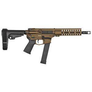 "CMMG Banshee 300 MK10 10mm Auto AR-15 Semi Auto Pistol 8"" Barrel 30 Rounds GLOCK Style Magazine RML7 Free Float M-LOK Hand Guard Cerakote Midnight Bronze"