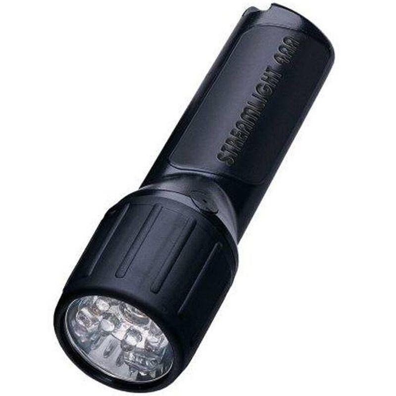 Streamlight ProPolymer LED Flashlight 67 Lumen Click Switch 4x AA Battery (Not Included) Click Switch Polymer Body Black 68301