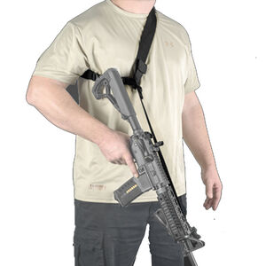 FAB Defense Three Point to 1 point CQB Weapon Sling Webbing Black